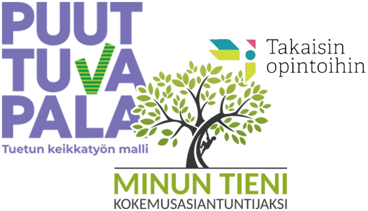 Kuvattuna ESKOT ry:n hankkeiden logoja