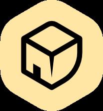 Lahjoittamo-palvelun logo, jota painamalla pääsee siirtymään palveluun